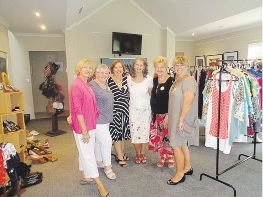 The Knit n' Natter Circle held a clothes swap to raise funds for TRYACT.