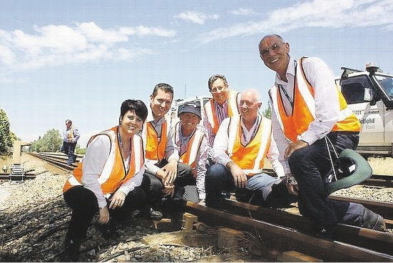 MPs get a close-up look at railway giant
