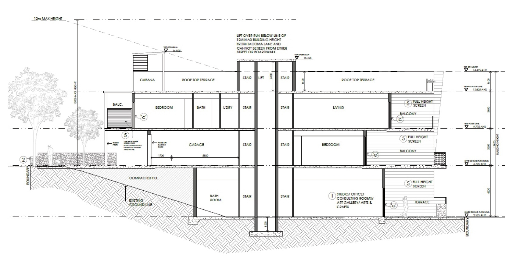 Have say on marina apartment proposal