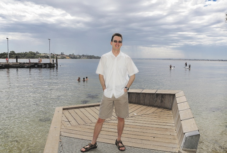 OCD support group co-ordinator Matthew Charlton. Picture: Martin Kennealey