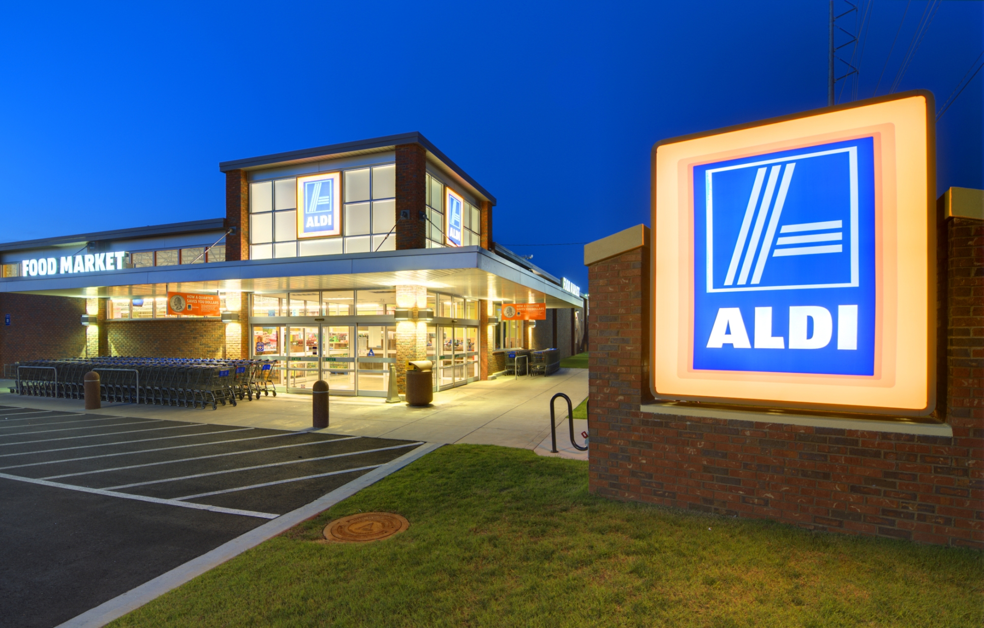 ALDI supermarkets are coming.