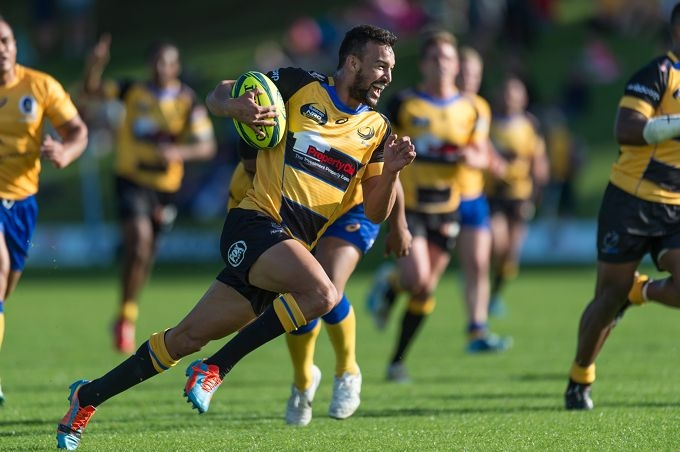 Perth Spirit fullback and leading try-scorer Dillyn Leyds. Picture: Johan Schmidt Photography.