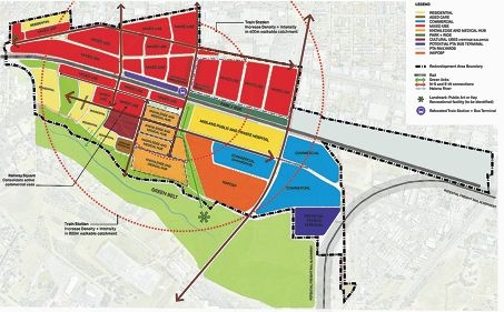 Plan to unite two sides of suburb