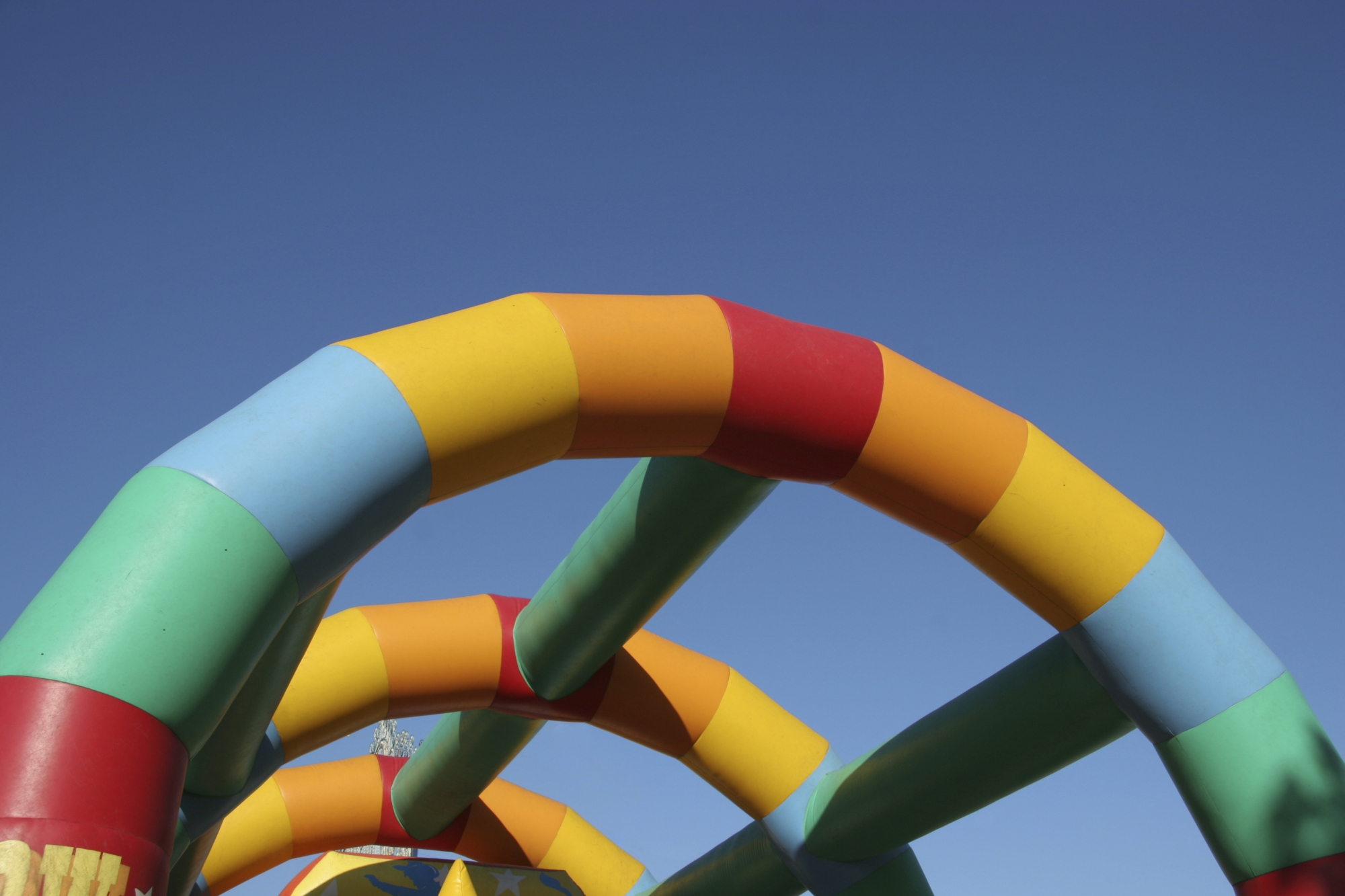 A bounc y castle will feature at the cancer fundraiser.
