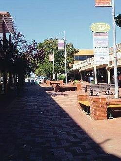 Kalamunda town centre.