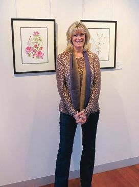 Vicki Lee Johnston's fascination for plants and flowers drove her
