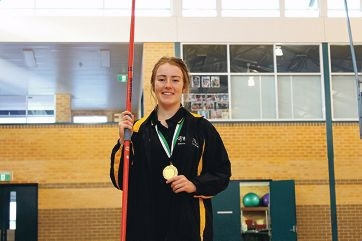 Morgan Doecke is aiming for Commonwealth Games and Olympic selection in javelin.