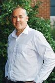 Labor candidate Adrian Evans.
