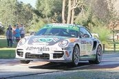 The great Jim Richards on his way to victory in Targa 2012.