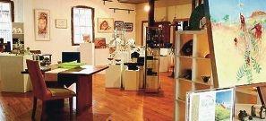The York Mill Boiler Room Gallery.