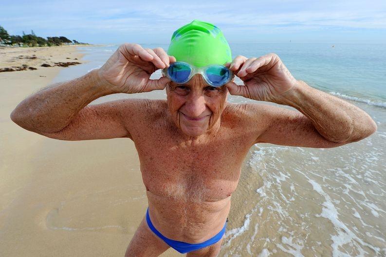 Rod Baker - 85 World Record Holder - (400 metres)