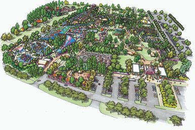 An artist's impression of the $70 million Outback Splash Water Park.