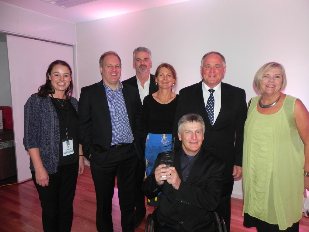 Staff and councillors representing the PNP member councils following the Australian Coastal Councils Conference Awards.