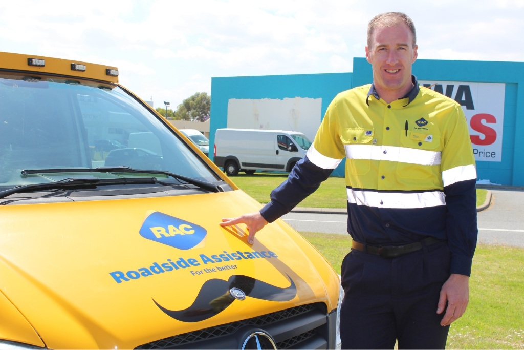Rockingham area patrol member Wayne Foster is backing the Movember cause.