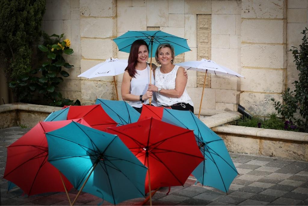 Duchess takes a shine to parasol