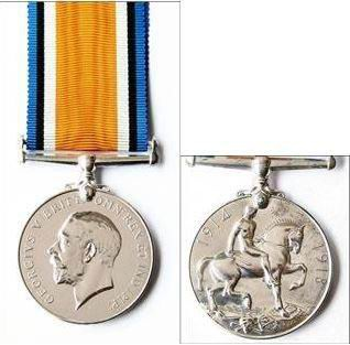 'Pte S Bird 7452' was engraved on the medals.