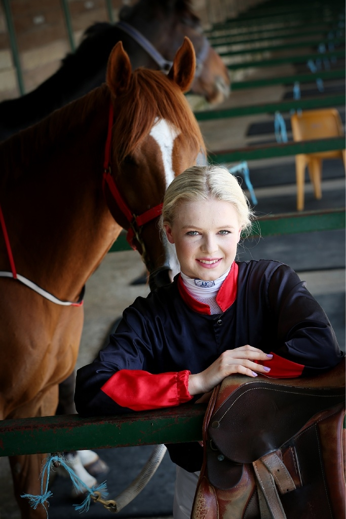 Racing in her blood: Jockey Lucy Warwick.Picture: Andrew Ritchie           d446295