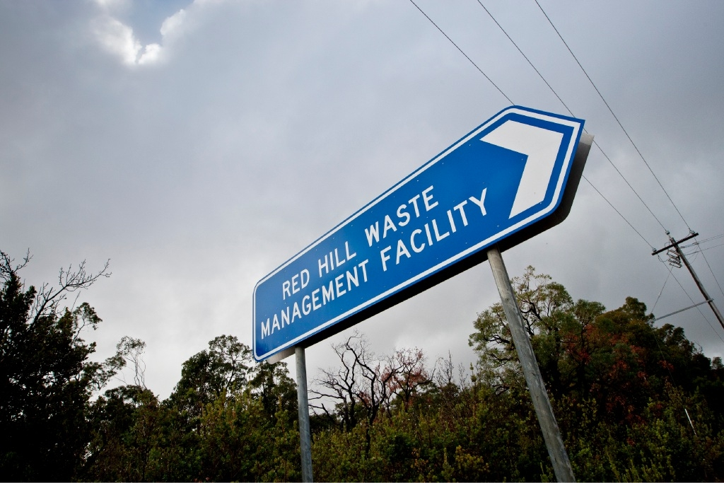 A proposal to expand the Red Hill Waste Management Facility involves clearing about 14ha hectares of native vegetation.
