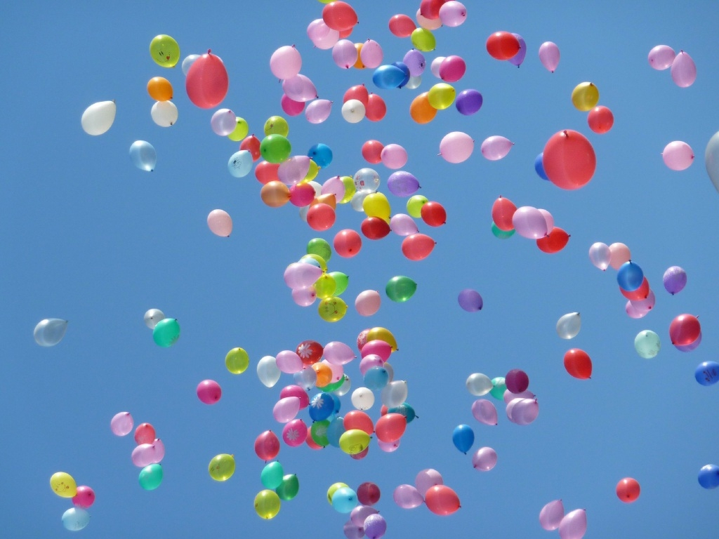 No cause for celebration: risks to environment from balloons.