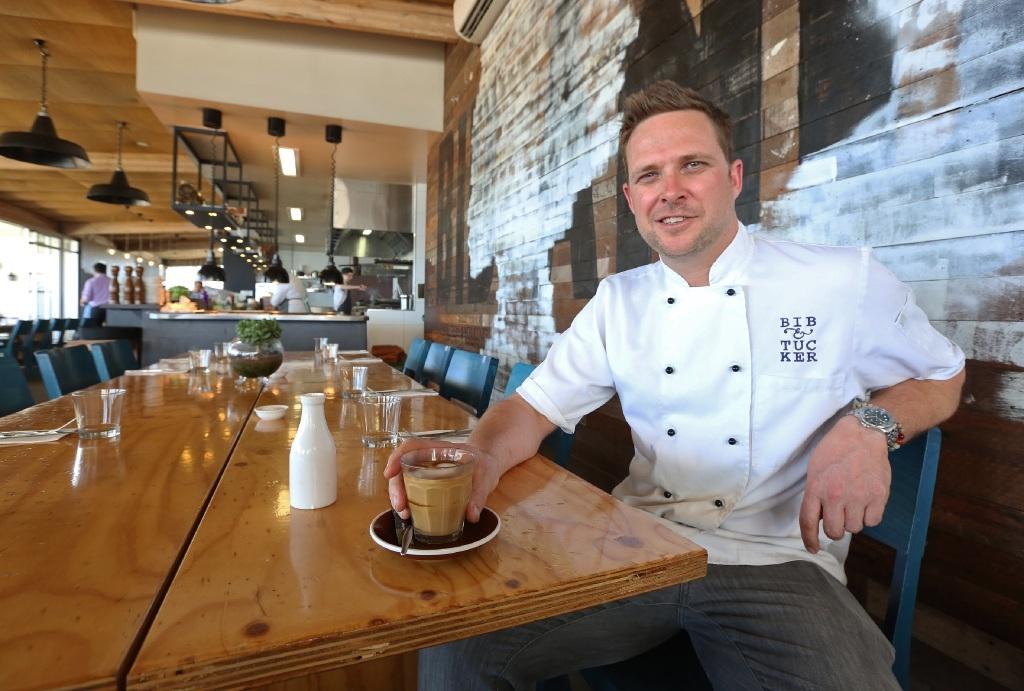Bib and Tucker executive chef Scott Bridger. d445134
