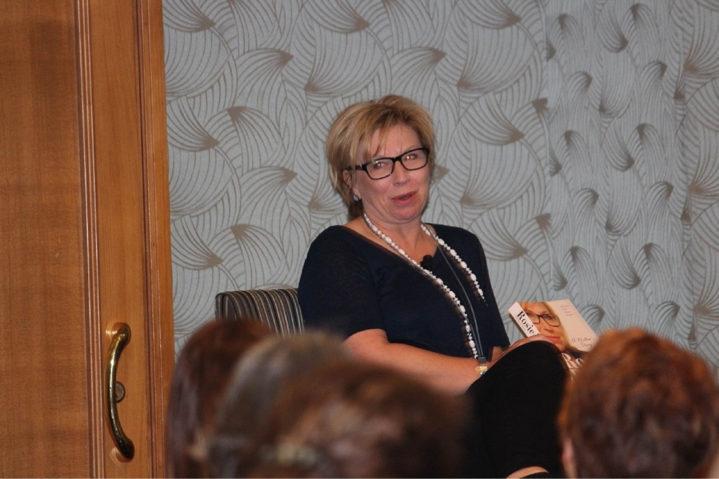 Rosie Batty at the launch of her book in Perth.WHEN your son is murdered in front of you by his own father, it is nothing short of life-changing.