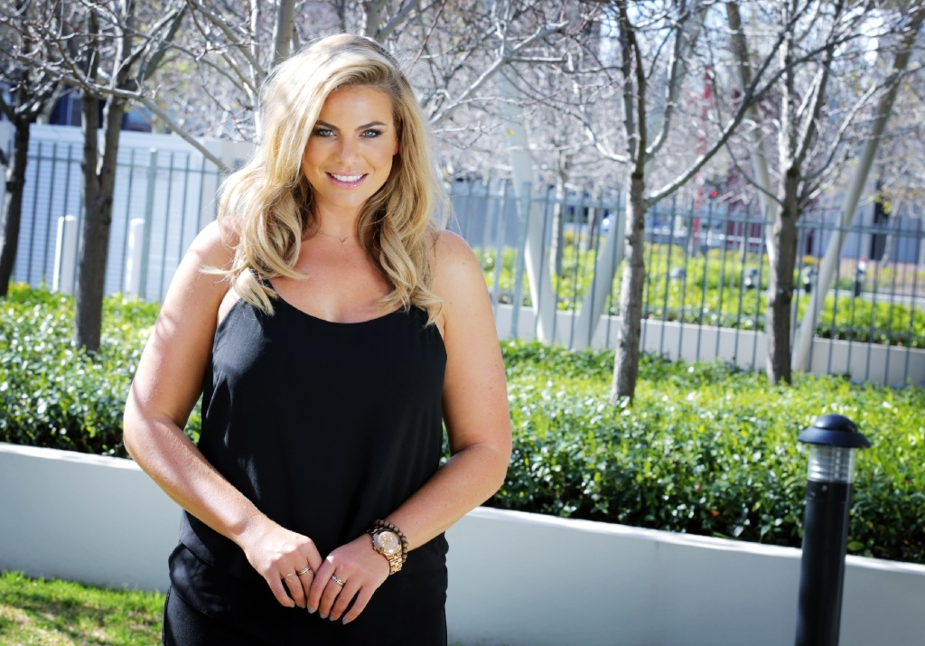 The Biggest Loser host Fiona Falkiner. Picture: David Baylis        www.communitypix.com.au   d443675