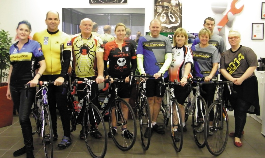 Survivors to tackle ride for cancer fund