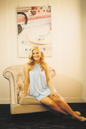 Lucy Durack is the new ambassador for Kailis Pearls. Picture: Andrew Ritchie    d442398