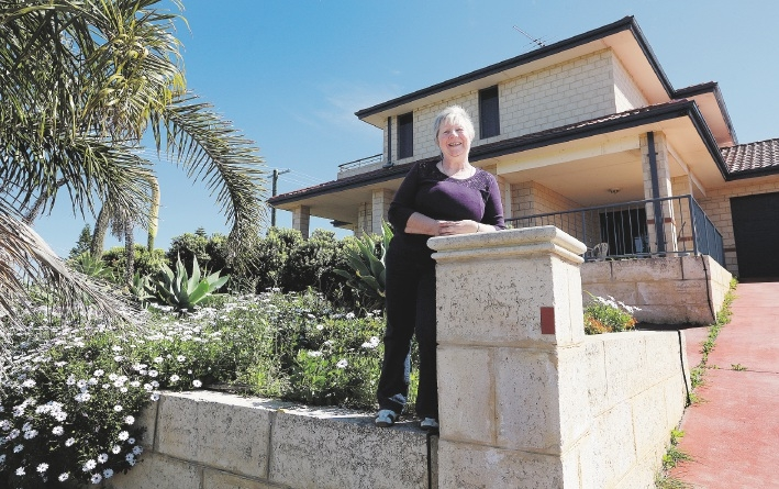 Big-hearted Jo Holding wants to transform a former bed-and-breakfast in Yanchep into accommodation for regional cancer patients needing treatment. Picture: Martin Kennealey        www.communitypix.com.au   d442786
