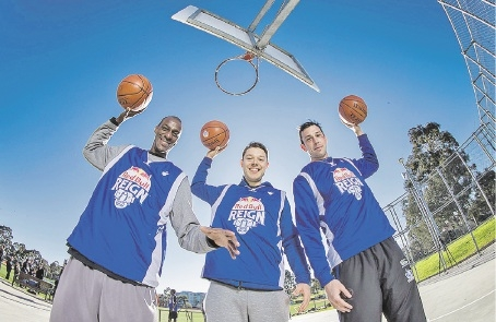 NBL star Lanard Copeland, NBA star  Matthew Dellavedova and AFL star Todd Goldstein are excited about the Red Bull Reign.