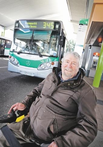 Malcolm Little has been campaigning to have a bus enter Whiteman Park.Picture: David Baylis www.communitypix.com.au   d442551