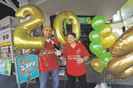 The Lucky Terrace Newsagency Co-Owners Barry & Dee Magan
