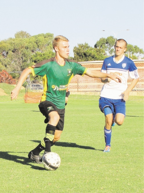 Nathan Smith scored Curtin's second goal.