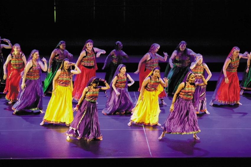 Performers at last year's Bollywood concert.