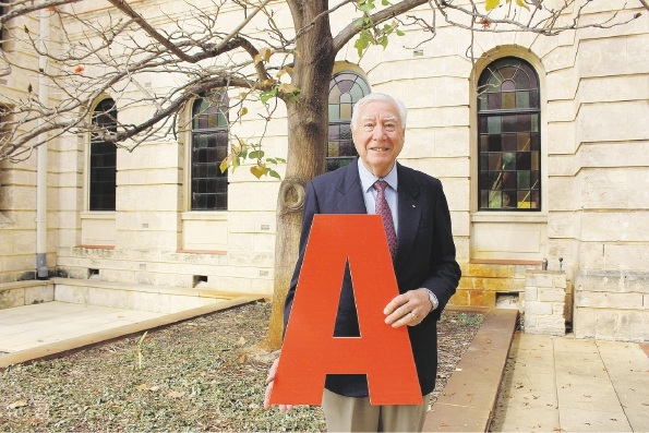 Blood donor Robert Ellis is still going strong at 81.