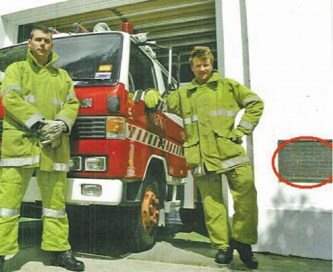 Former Bassendean volunteer firefighters are relieved a station plaque will be returned.