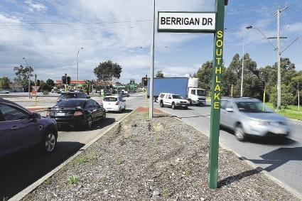 Work will start on the Berrigan Drive intersection in an attempt to make it safer.