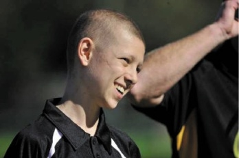Kalin Foley was diagnosed with the rare rhabdomyosarcoma when he was 12.