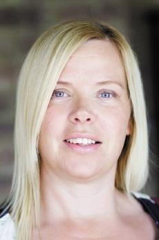 Busy bee: Karen Mc Dermott has six children, writes books and runs a publishing business.
