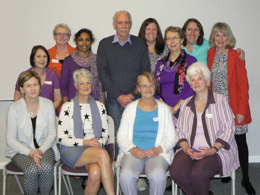 Midwives showed their appreciation for GP obstetrician Colin Smyth at a morning tea.
