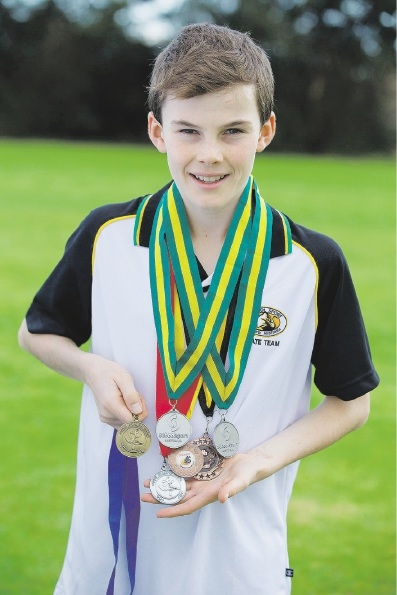 Luke Heathcote will soon compete in the National Schools Championships.