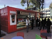 Cafe in a container: Yahava's new pop-up at Perth Airport.