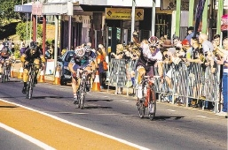 Peel rider David Wessels wins the 90th Collie to Donnybrook. Picture: Toby Brown