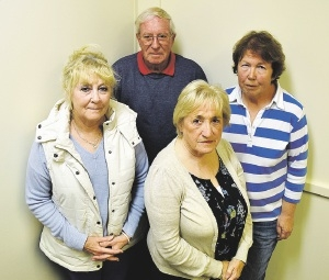 David Astin, Diane Fuller, Jean Laws and Pat Pillings do not want to return to England.