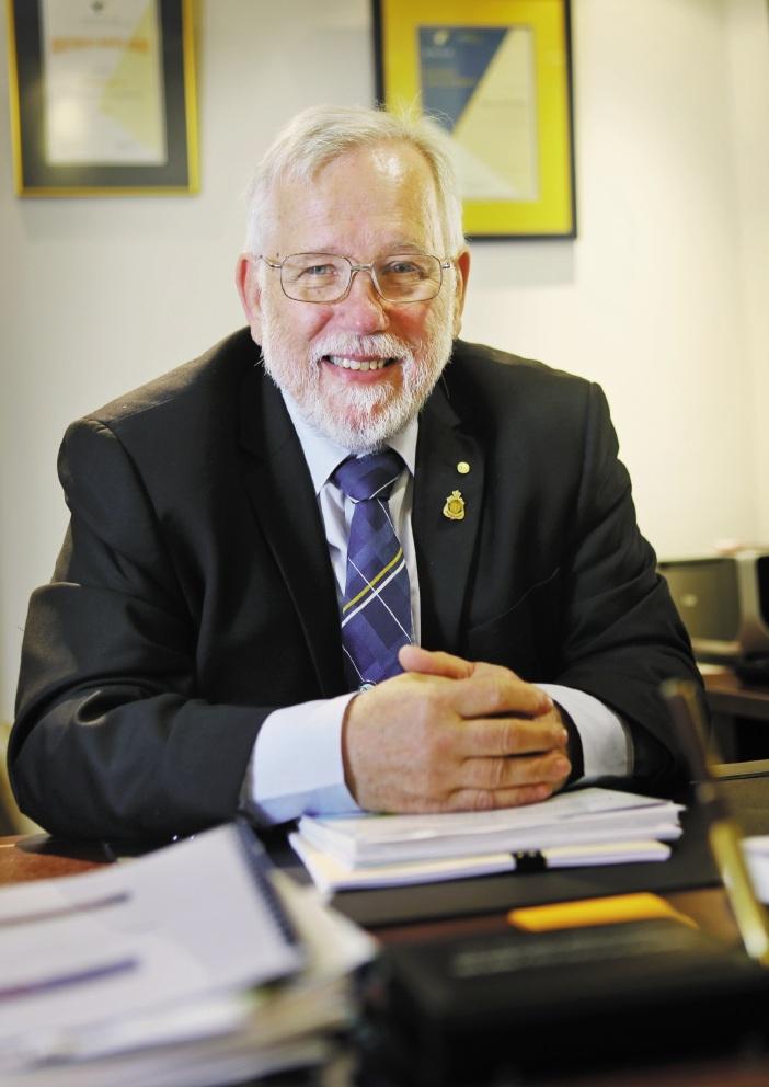 Armadale Mayor  Henry Zelones.