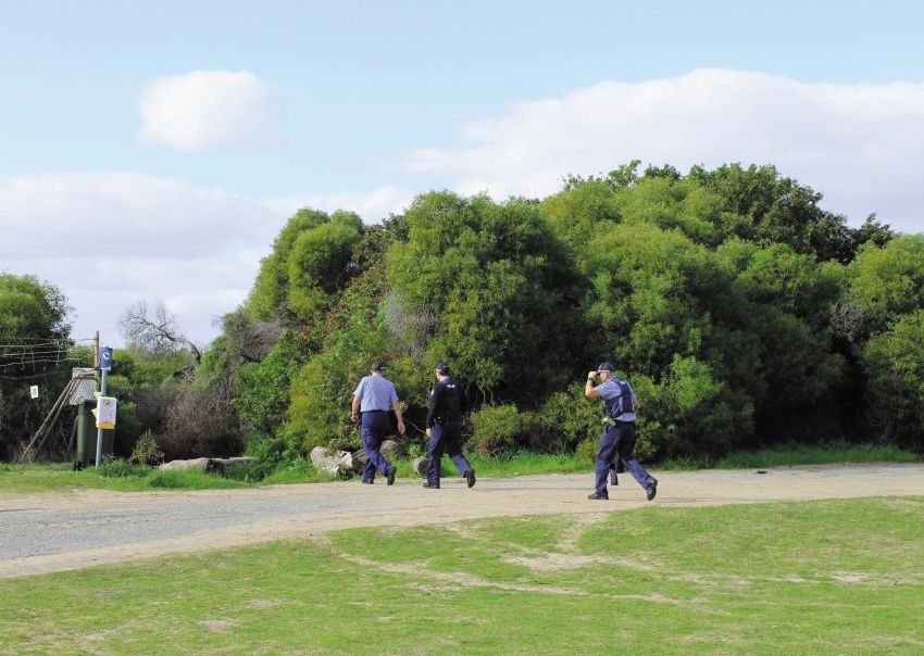Police are |looking for clues into the death of a man in Peron.