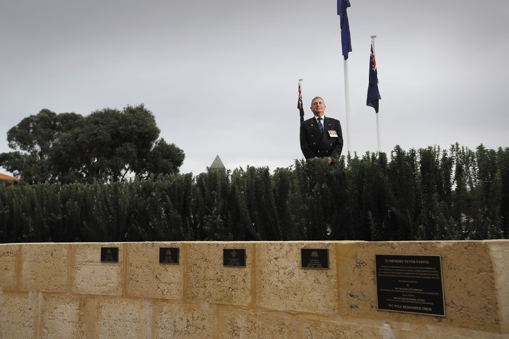 David House is calling for families of deceased members to come forward for the Wall of Remembrance  project. Picture: Andrew Ritchie www.communitypix.com.au   d442087