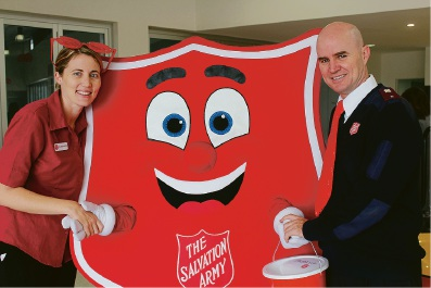 Rockingham Salvation Army launched their Red Shield Doorknock Appeal