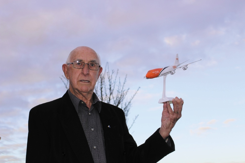 Riverton resident Bill Gleeson said he would continue to fight for flight path reform. Picture: Pia van Straalen