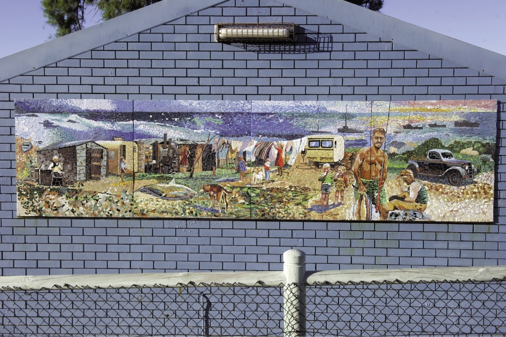 Danka Scholtz von Lorenz's mural at the Yanchep Lagoon has been taken down temporarily.